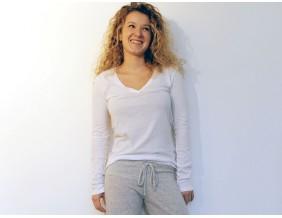 Alternative Langarmshirt weiß